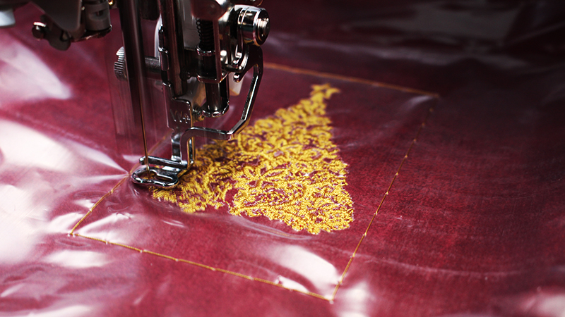 Tips for Embroidery on Faux Suede