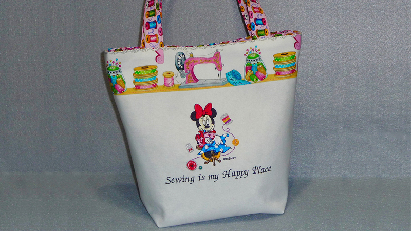 Part 1: Minnie Mouse Grab and Go Tote