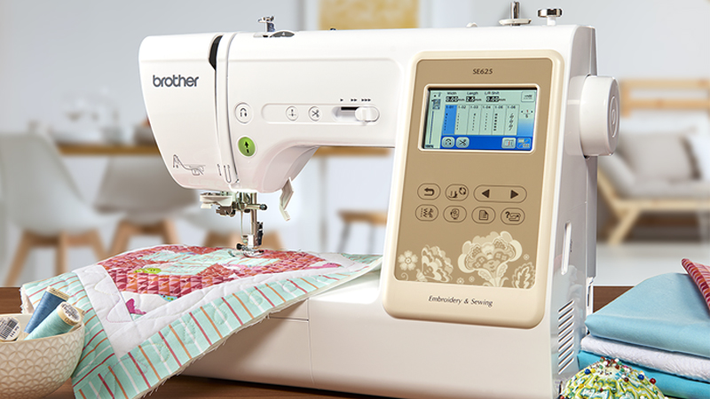 The SE625 Sewing and Embroidery Machine