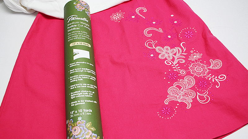 Embellish a Skirt with Embroidery