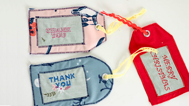 Fun Fabric Gift Tags