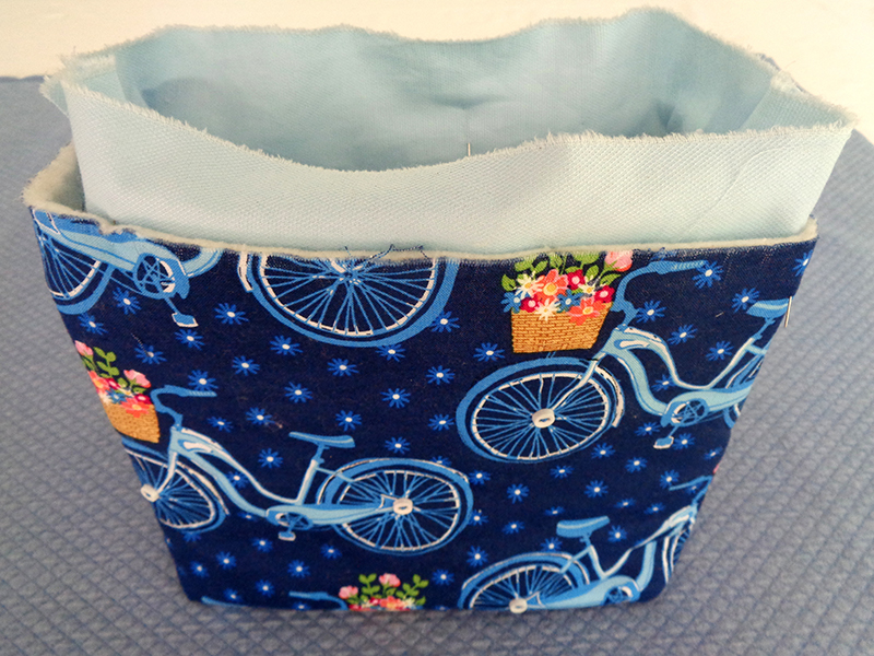 Appliqué Bike Bag