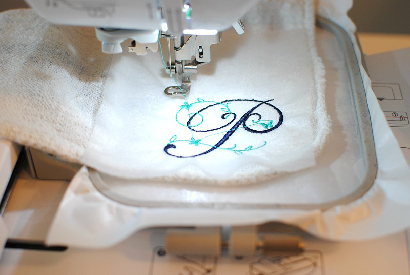 Embroider Towel Spa Day