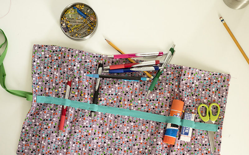 Pencil Roll for Back to School