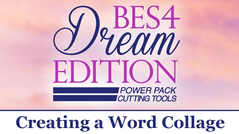 BES 4 Video Tutorial: Creating a Word Collage
