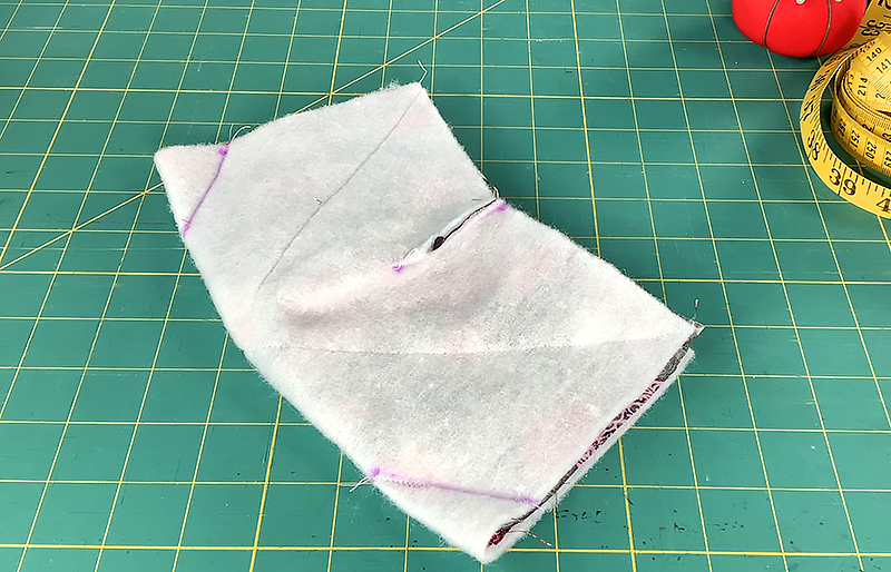 marked fabric