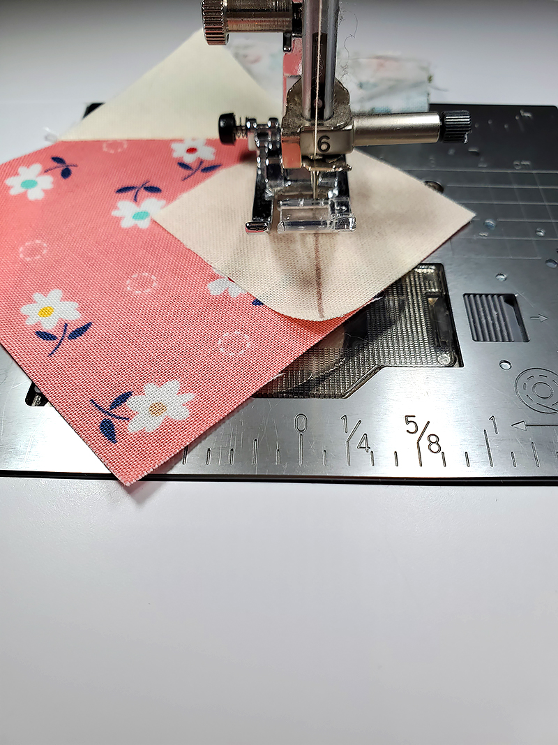 sew I and W squares