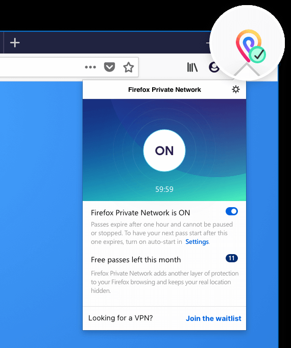 firefox private network vpn extension