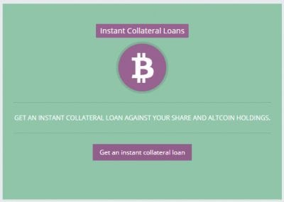 How to get a Instant Loan at Btcpop with Collateral