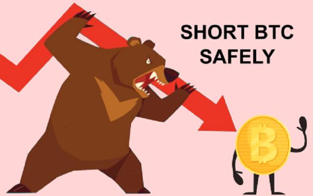 Short bitcoin safely