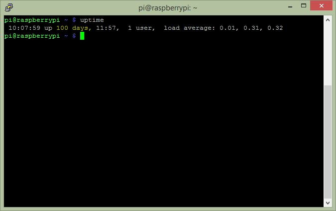 Raspberry Pi Uptime