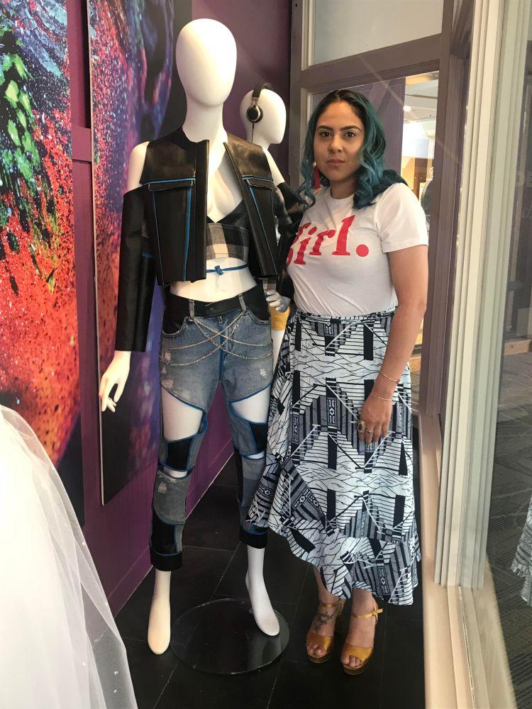 Oak Park Mall Designer Challenge Winner Week 1