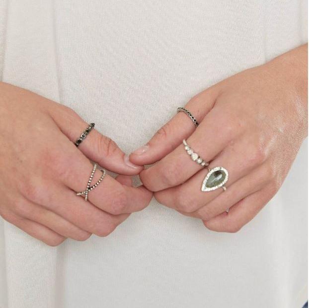 Women's BKE Boho Ring Set