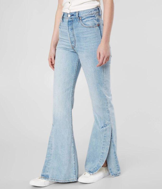 Women's Levi's Ribcage Split Flare Jean