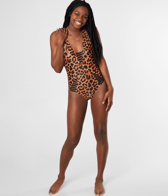 Leopard One Piece Swimsuit at Buckle