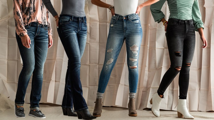 Rises can hit people differently depending on height and torso length, but if you know where your natural waist is and where the jeans will hit you can easily find the perfect fit.
