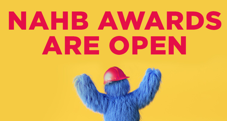 NAHB Awards Are Open
