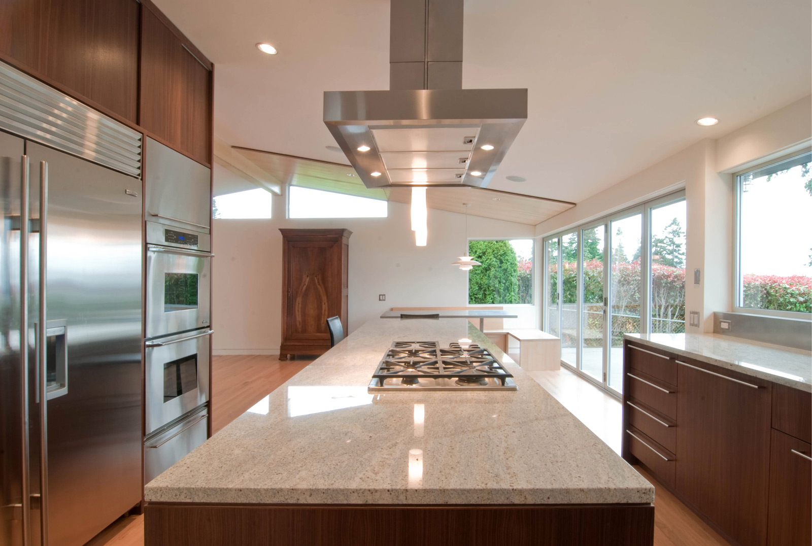 kitchen hood fans glass front cabinets design strategies for venting build blog