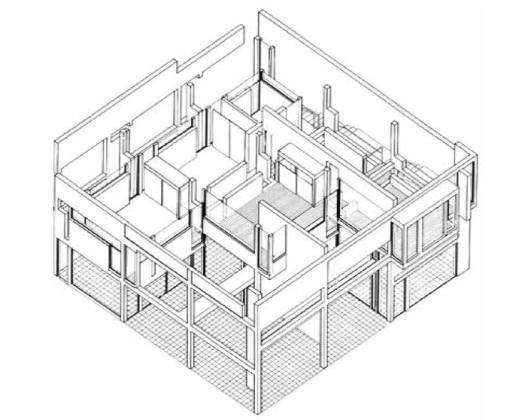 House II plan
