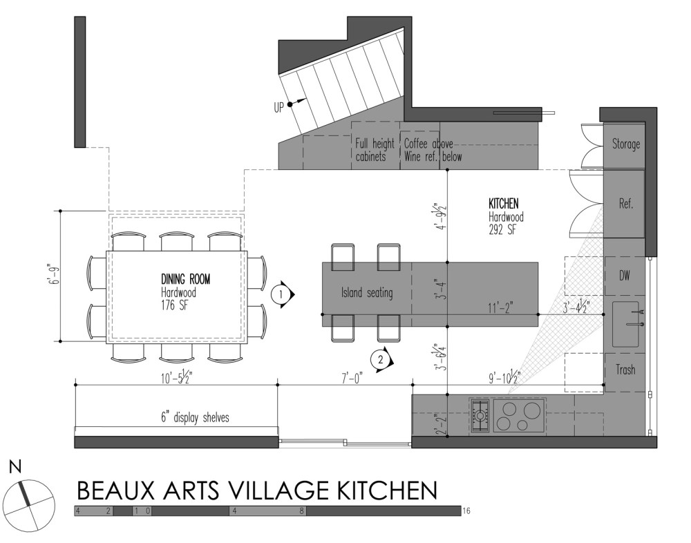medium resolution of build llc beaux arts village kitchen plan