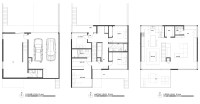 House Double Staircase Floor Plan