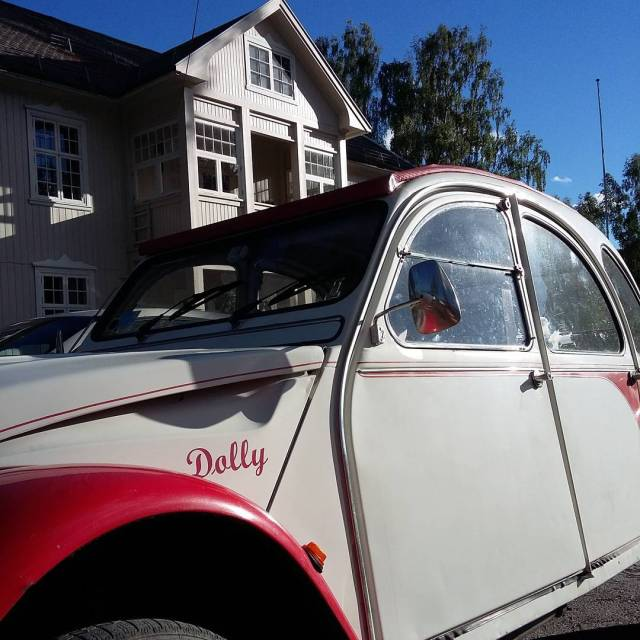 Best med 2CV p tur touring with my 2CV eggedalhellip