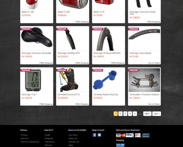 featured products on bumsonthesaddle