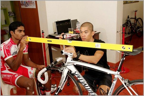 Vijay - Specialized body geometry bike fit