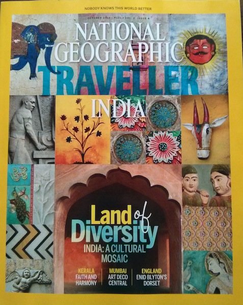 National Geographic Traveller India - cover