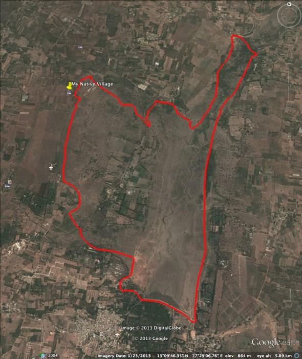 BBCH Dirt 100 MTB Race - race loop