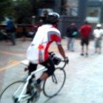 Sreekant - the last man off on the 1200km
