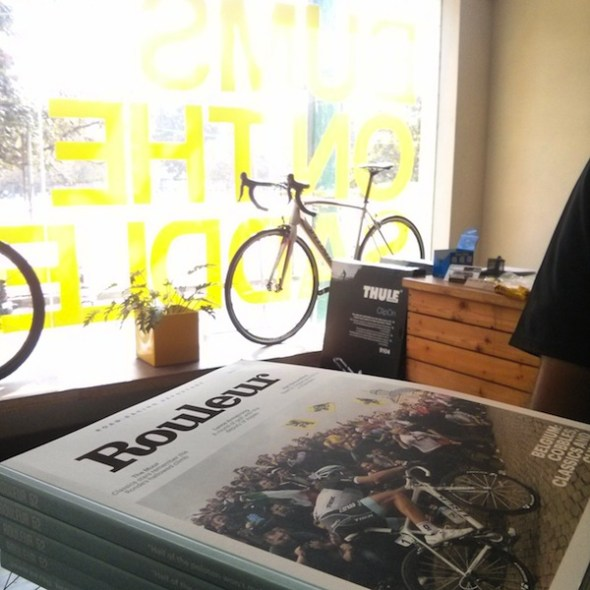 Rouleur magazine in India