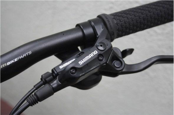 Bergamont helix 4.0 shifters