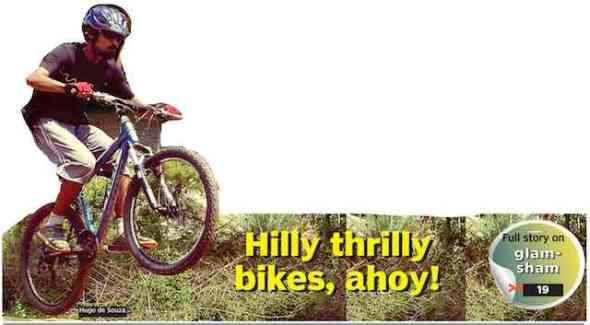 MEDIA052 - deccan chronicle - mountain biking bangalore 1