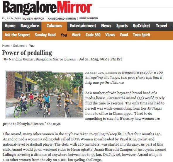 BOTS Press: Women Cycling - The Power of Pedaling