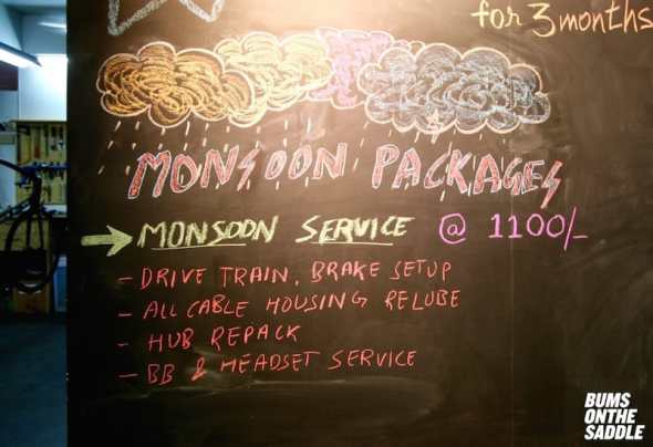 BOTS Monsoon offer - well maintained bikes during the monsoons