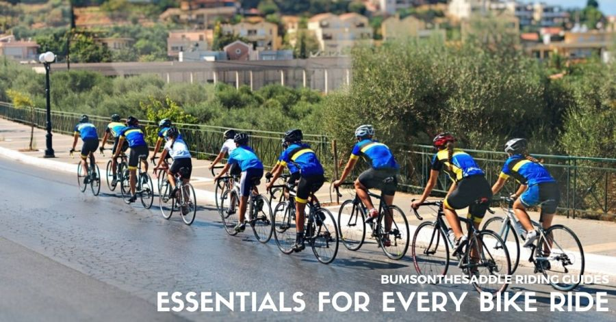 Essentials to Carry on every Bike Ride | BUMSONTHESADDLE Expert Advice