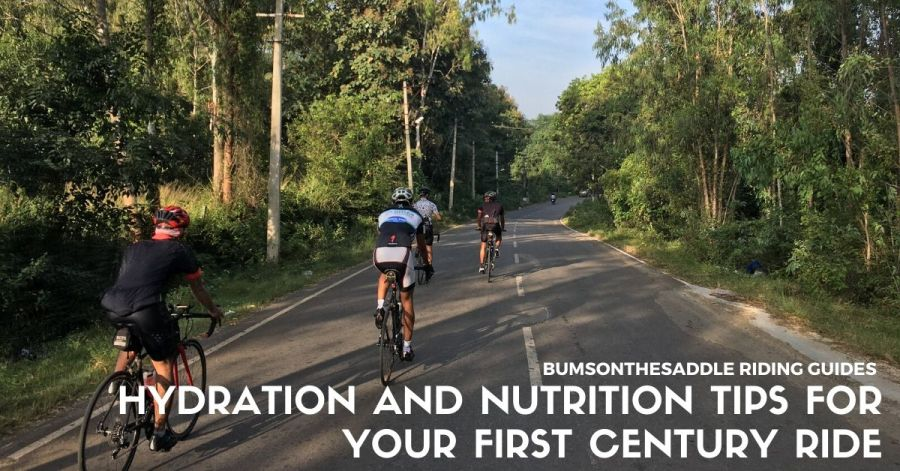 Hydration Nutrition tips for 100k ride