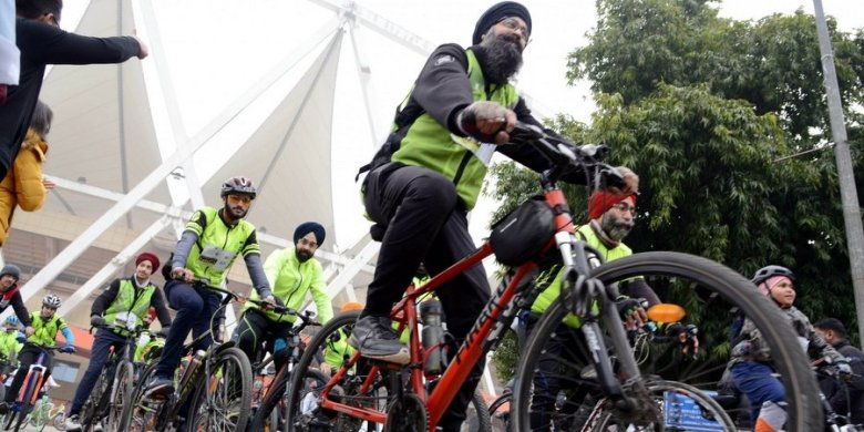 fitness cycling in India