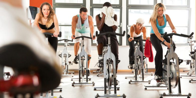 Indoor spin classes