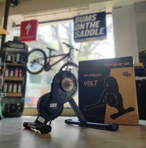 Jetblack VOLT - Indoor Smart Trainer | BUMSONTHESADDLE