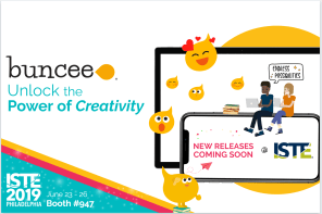 Buncee is headed to ISTE19!