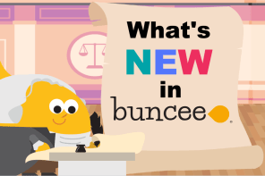 What's New in Buncee-Week of Nov 12