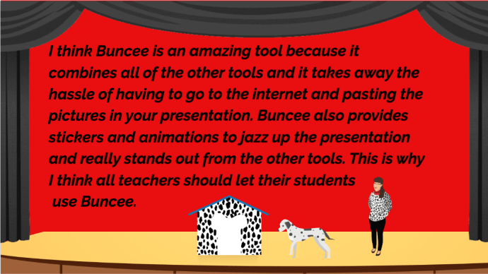 Stage Buncee