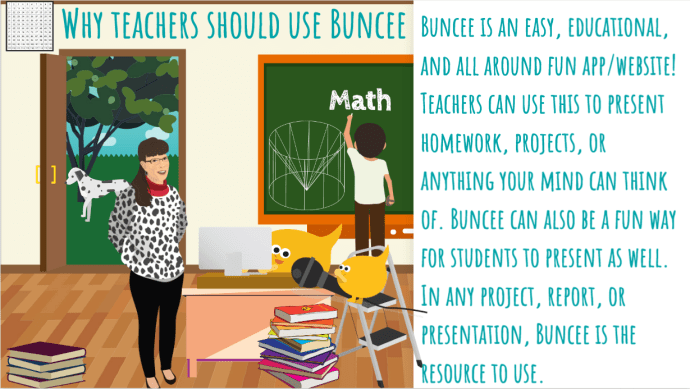 Teacher and students Buncee