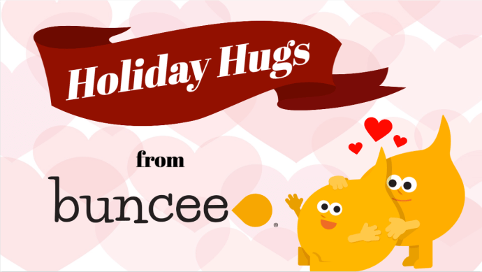 Holiday Hugs from Buncee
