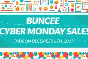 Buncee Thanksgiving Cyber Sale!