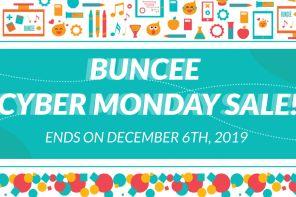 Buncee Thanksgiving Cyber Sale!