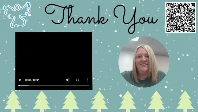 Thank you, from Amy Storer