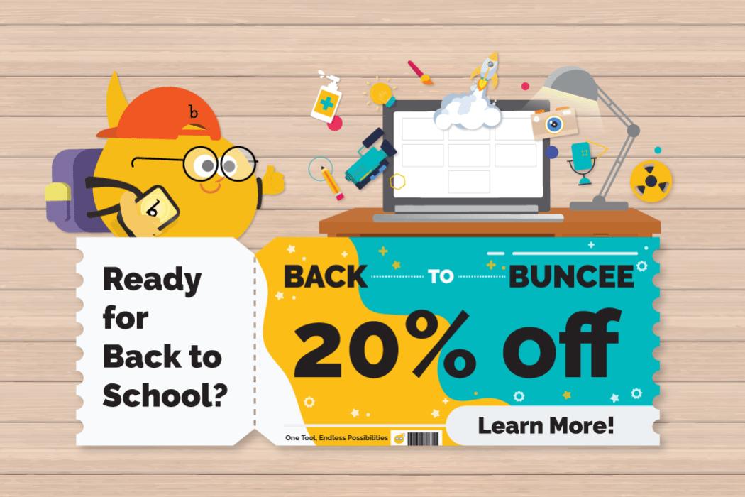Back to Buncee Sale